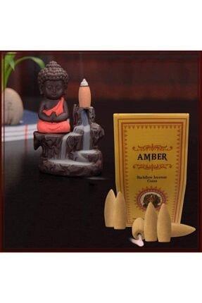 iyibifikir Ayurvedic Backflow Geri Akışlı Şelale Tütsü Konileri Amber Aromalı 10 Adet Koku Hediyelik