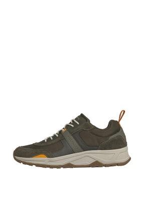 Tommy Hilfiger Erkek Yeşil Sneakers Fashion Mix Sneaker FM0FM02389