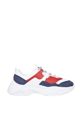 Tommy Hilfiger Kadın Mavi Sneaker Tommy Jeans Lightweight Shoe EN0EN01273