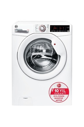 Hoover H3WS 411TAME/1-17 11 kg NFC Bağlantılı 1400 Devir Çamaşır Makinesi