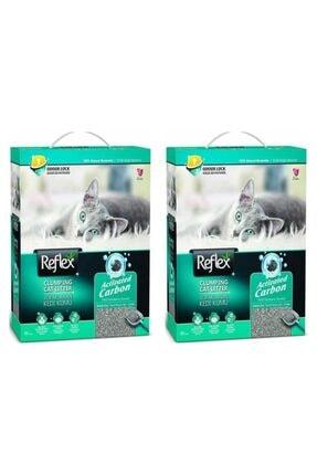 Reflex Aktif Karbonlu Süper Hızlı Topaklanan Kedi Kumu - 10 lt x 2 Adet