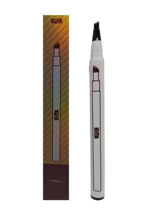 Makeuptime Microblading Kalıcı Kaş Kalemi Ucu Tırtıklı Siyah