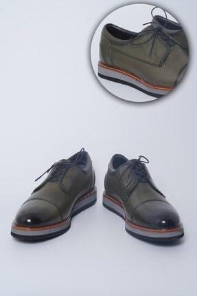 Buffalo Milano El Yapımı Yeşil Casual Ayakkabı