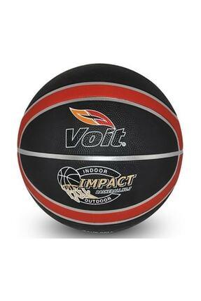 Voit Impact 057 Basketbol Topu No: 7 Siyah-kırmızı