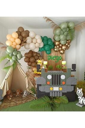 canbayhobi Orman Temalı Balon Konsepti Balon Zinciri