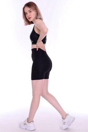 Dynamic Kadın Siyah Mini Deniz Taytı