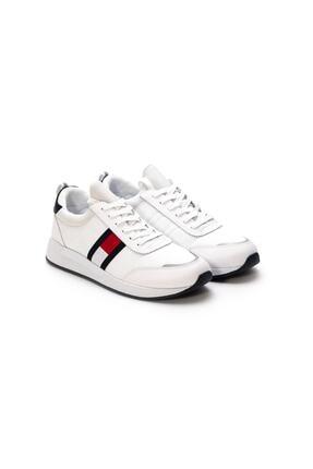 Tommy Hilfiger Flexi Lycra Tommy Jeans Runner Erkek Ayakkabı Em0em00632