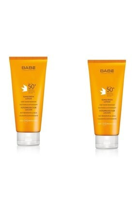 Babe Sunscreen Lotion Spf50+ 200 Ml 2 Adet (kofre 2)