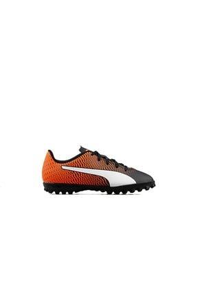 Puma Rapido Ii Tt Jr Genç Halı Saha Ayakkabısı 10606503 Turuncu