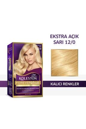 Koleston Wella Kit Set Saç Boyası 12/0 Çok Açık Sarı