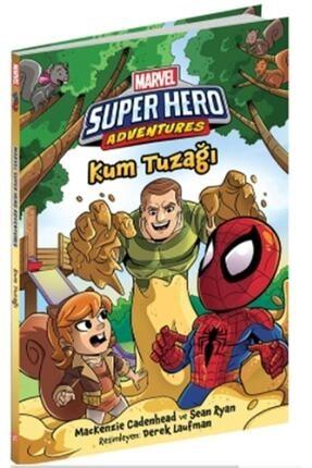 Beta Kids Kum Tuzağı Marvel Super Hero Adventures Mackenzie Cadenhead