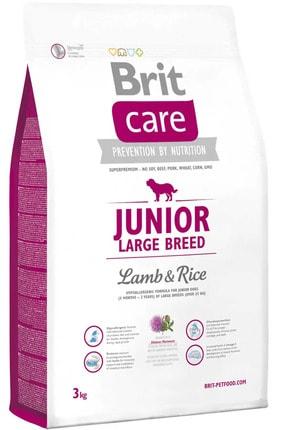 Brit Care Junior Kuzu Ve Pirinçli Büyük Irk Yavru Köpek Maması 3kg