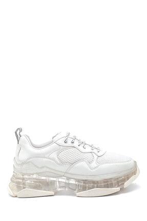 Derimod Kadın Şeffaf Taban Detaylı Sneaker