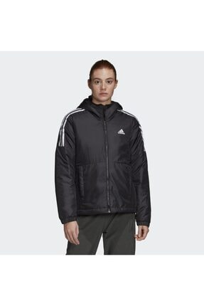 adidas W ESS INS HO J Siyah Kadın Mont 101118197