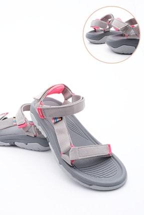 Marjin Kadın Gri Trekking Sandalet