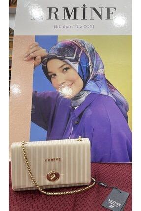 Armine Kadın Bej Çanta Lazer 273