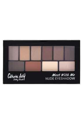 Catherine Arley 10'lu Palet Far - 2059 Meet Whıt Me Eyeshadow Nude