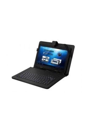 """Everest Kb-Tab10 Siyah 10"""" Mini Usb Türkçe Q Klavye + Tablet Pc Kılıfı"""