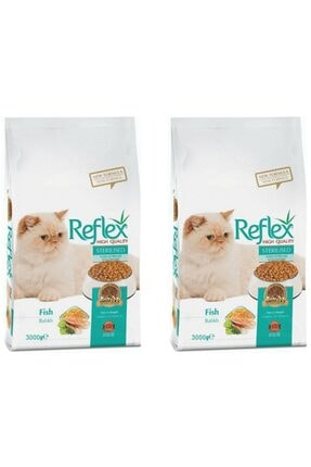 Reflex Balıklı Kısırlaştırılmış Kedi Maması 3 kg x 2 Adet