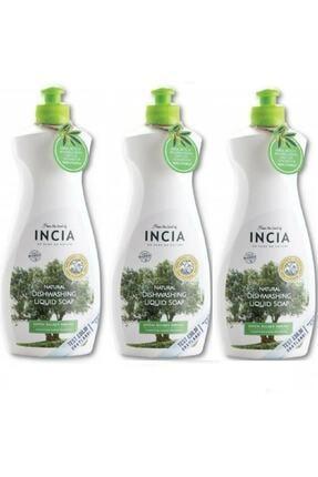 Incia Doğal Bulaşık Sabunu 500 ml 3 Adet