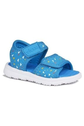Vicco Limbo Unisex Çocuk Mavi Sandalet ((1 NUMARA BÜYÜK ALABİLİRSİNİZ))