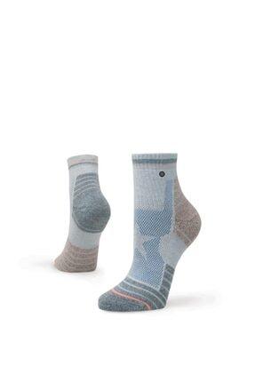 Stance Kadın Çorap Glorious Hike Qtr Grey