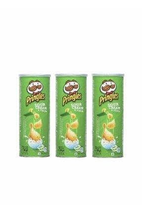 Pringles Sour Cream & Onıon 130 Gr X 3 Adet