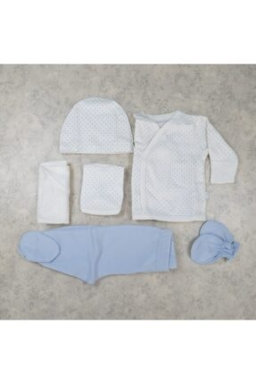 Bebetto Kız Bebek Puantiyeli 5'li Hastane Seti