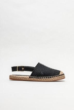 Elle Shoes Siyah Kadın Espadril