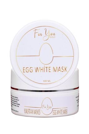 For You Gold Egg White Pore Gözenek Maskesi - Gözenek Temizleyici, Sıkılaştırıcı Maske