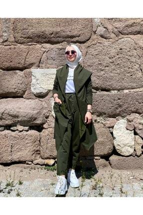Leila Boutique Kadın Diamond Şalvarlı Takım