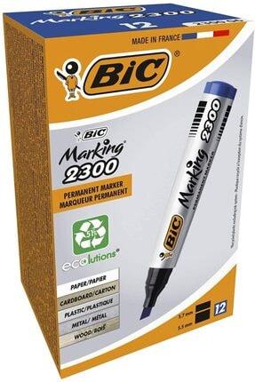 Bic Marking 2300 Marking Kesik Uçlu Permanent Marker 12 Li