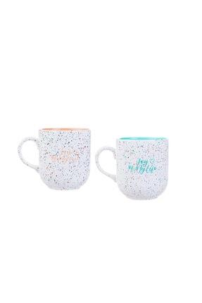 Karaca Joy Of Turuncu Mint 2li Mug