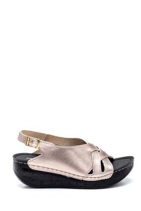 Derimod Kadın Casual Dolgu Topuk Sandalet