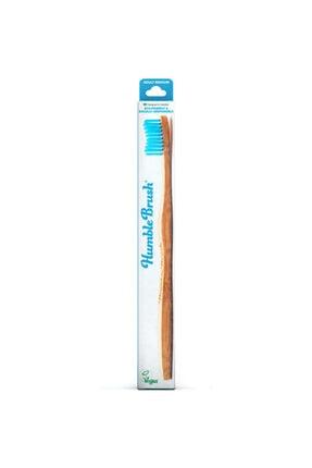 Humble Brush Mavi Yetişkin Diş Fırçası - Medium Orta Sert