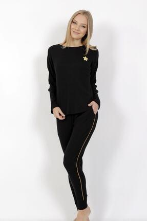 VİENETTA Siyah Pijama Takımı