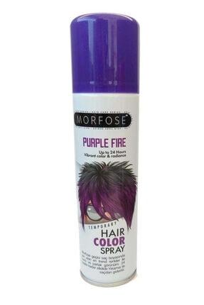 Morfose Hair Color Spray 150 Ml Purple Fire Saç Spreyi Mor