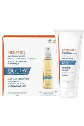 Ducray Neoptide Women Losyon Serum 30 ml X 3'lü + Anaphase Şampuan 100 ml