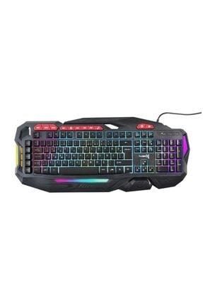 TURBOX Tr-gk103 Usb Kablolu Gaming Standart Q Rainbow Aydınlatma Klavye