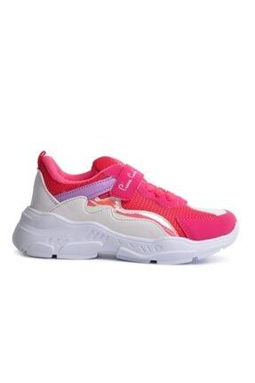 Pierre Cardin 30633 Fuşya Fileli Bantlı Kız Çocuk Spor Ayakkabı