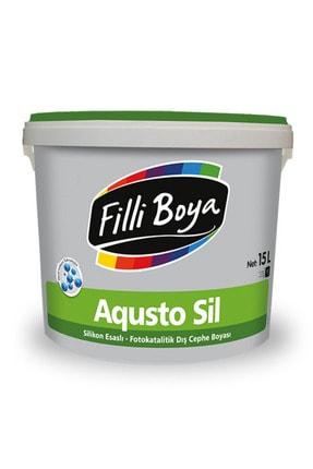 Filli Boya Agusto Sil Kendi Kendini Temizleyebilen Su Bazlı Son Kat Mat Dış Cephe Boyası