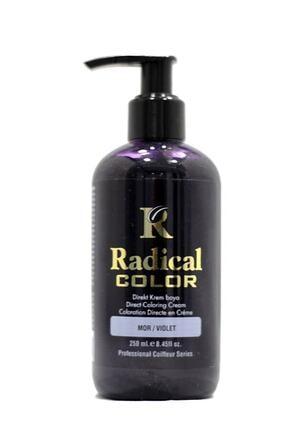 Radical Color Mor Su Bazlı Saç Boyası   250 ml 8680035540942