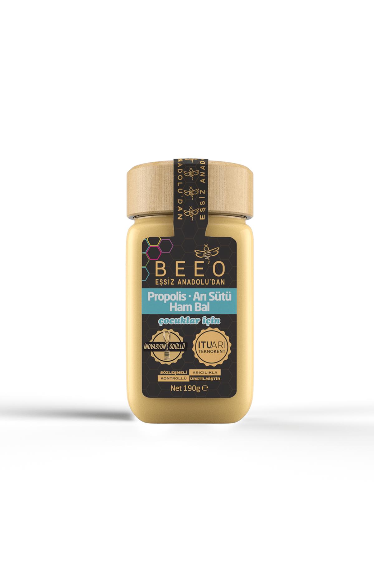 BEE'O Çocuklar için Propolis+arı Sütü+ Bal Karışımı 190 gr