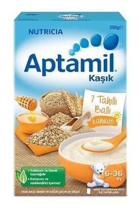 Aptamil Boze Kaşık 7 Tahıllı Ballı Kahvaltı Tahıl Bazlı Kaşık Maması 250 Gr