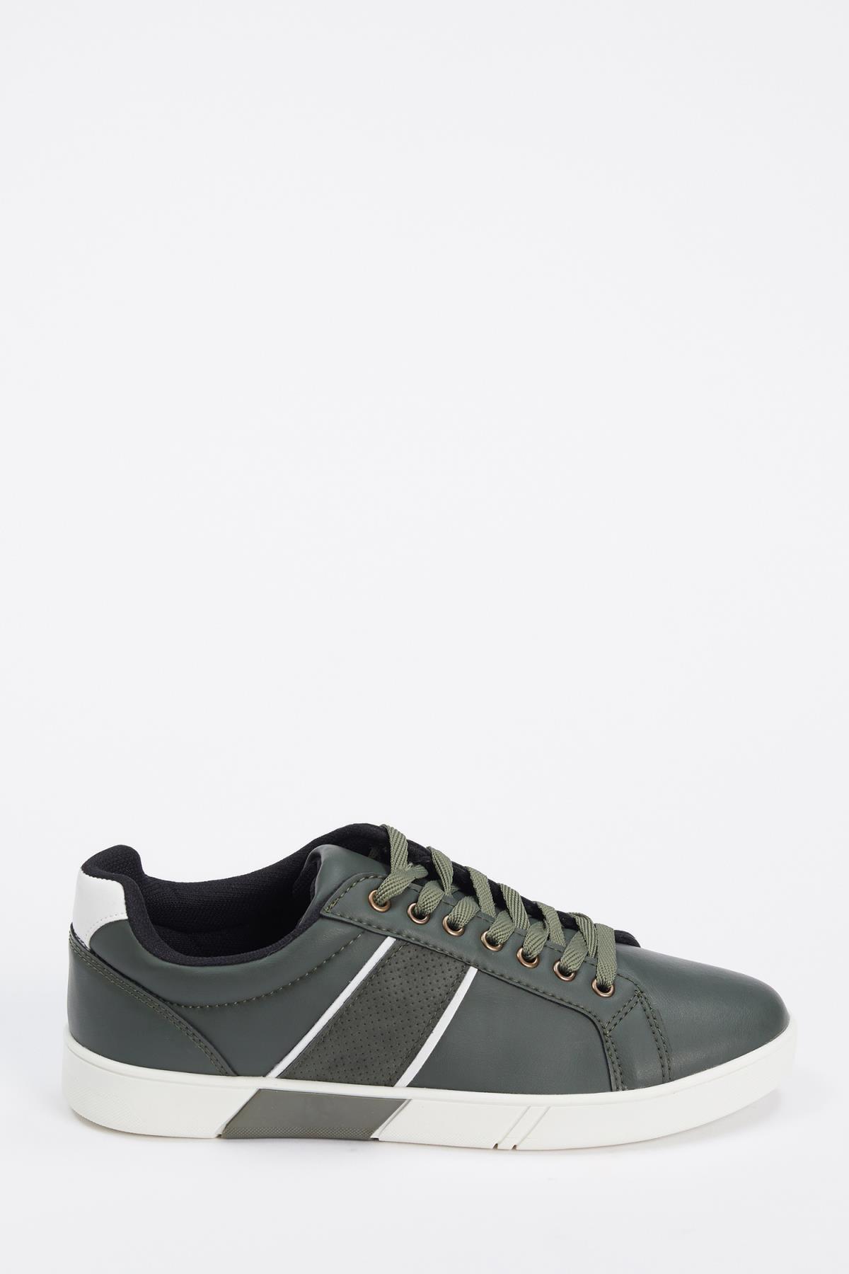 DeFacto Erkek Khakı Bağcıklı Sneaker Ayakkabı S5646AZ20AU