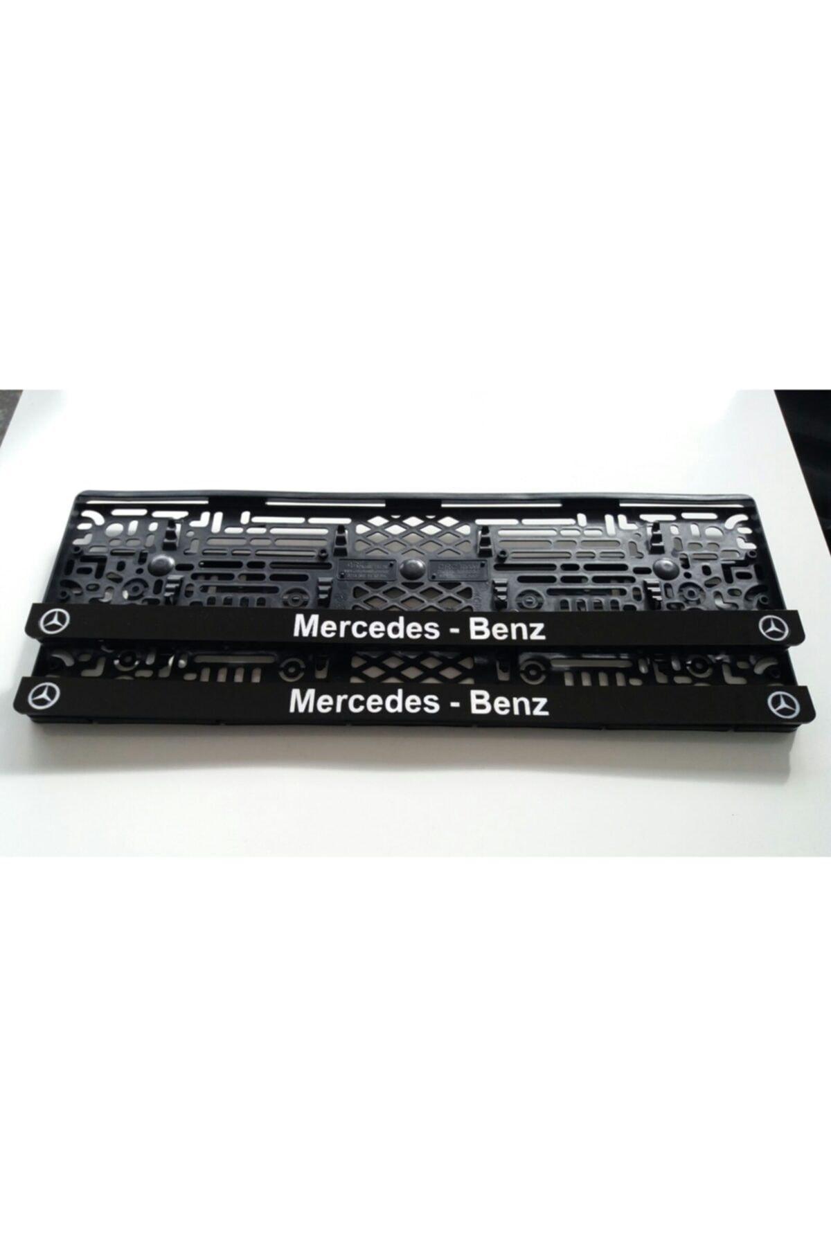 3M Mercedes Benz Yazılı Takmatik Lazer Kesim Pleksi Plakalık 1