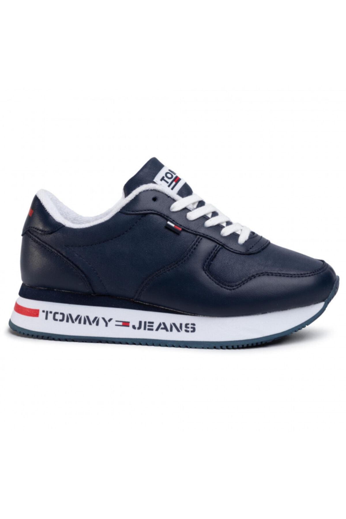 Tommy Hilfiger Kadın Lacivert Ayakkabı En0en00778-c87 1