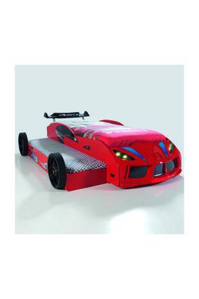 Setay Kırmızı Yavru Yataklı Rüzgarlıklı Arabalı Yatak