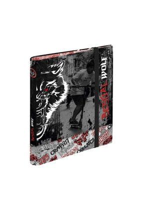 Busquets Bestial Wolf 4 Telli Lastikli Klasör 20710052500