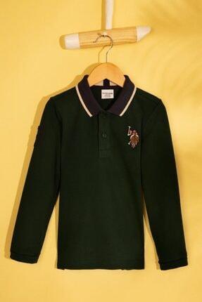 U.S POLO Erkek Polo Sweatshirt